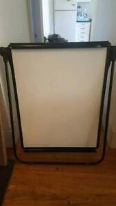 Double sided freestanding Whiteboard 1m tall Bronte Eastern Suburbs Preview