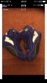 Omp karting boots £50