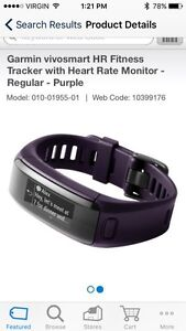 Garmin VIVOSMART HR (Fitness Tracker) Cambridge Kitchener Area image 3
