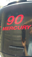 90 HP Mercury FourStroke Outboard for sale