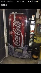 Coke pop machine