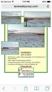 Hay land for sale