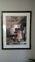 """24"""" x 36"""" 2 girls with Grand Piano Picture"""