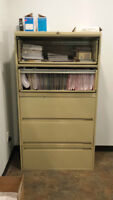 REDUCED/5 Drawer Lateral Filing Cabinet