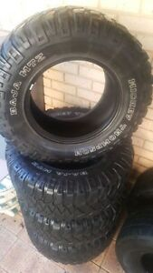 """33"""" Mickey Thompson Baja MTZ and Dunlop at20 tires Fremantle Fremantle Area Preview"""