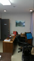 """""""Offices for rent"""" from $500.00 to $1500.00 util.inc.on Main St."""