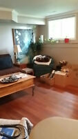 Large One Bedroom Collingwood Walk to downtown