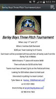 Barley Boys Three Pitch Tournament