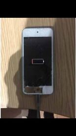 iPod touch 5th gen cracked screen (buy 2 get 1 free)