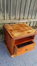 Coffee Side Lamp Bedside Table TV Unit Stand Distressed Timber Coogee Eastern Suburbs Preview
