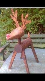 Handcrafted Reindeer
