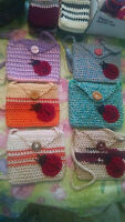 Crochet Little Girl Purses