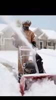 Reasonable prices for Snow clearing res .  driveways walks etc.