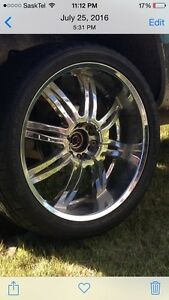 24 inch rims dual 6 bolt pattern