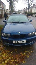 Breaking BMW 323CI convertible 2.5 2000