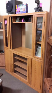 Entertainment center - Used