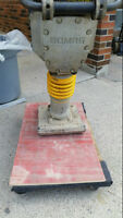 JUMPING JACK TAMPING RAMNER BOMAG - EXCELLENT CONDITION