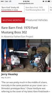 1970 mustang boss ad is a scam