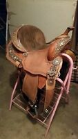 14 inch barrel saddle forsale