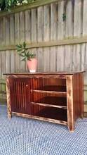 Small Distressed Timber TV Entertainment Unit Cabinet Coogee Eastern Suburbs Preview