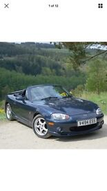 Mazda mx5 1.8 sport limited edition