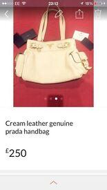Prada !!! Genuine prada bowler bag with certificates