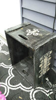 Antique Painted Apple Crate