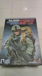 Hot Toys 1/6 U.S. Army 10th Mountain Division Sniper Brand New Sydney City Inner Sydney Preview
