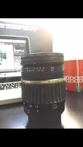Tamron 17-50  f- 2.8 with filter for canon