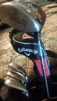 Calloway golf club set Left-handed