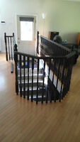 Hardwood Railing - Posts, Spindles and Rails