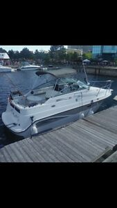 2000 Seaswirl 250 Cuddy cabin! Want gone!