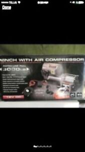 Winch with Air Compressor