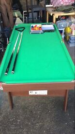 6x3 Pool/Snooker Table