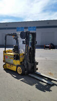 2008 Hyster E80Z 8,000lb. Electric Forklift