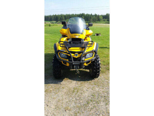 Used 2010 Bombardier can-am outlander max 800 xt