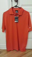 BRAND NEW NIKE GOLF POLO MENS MEDIUM WITH TAGS