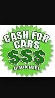 WE BUY SCRAP CARS TRUCKS AND VANS!!!