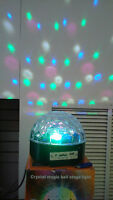 Ever Rise LED--Crystal magic ball stage light