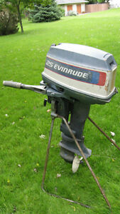20HP/25HP EVINRUDE PARTS MOTOR,SHORT SHAFT (1976)
