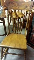 THE BARN STORE - Handcrafted solid wood rocking chair