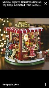 Looking to buy santas animated toy shop that was sold at Costco  St. John's Newfoundland image 1