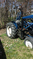 600 Series Tractor with attachments