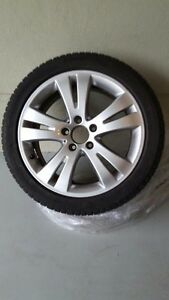 Mercedes C300 winter tires and rims