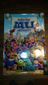 Posters: Monster University and The Simpsons