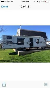 2010 travel star , 29 ' bunkhouse travel trailer