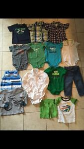 Baby boys clothes 3-24 months