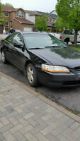 1999 Honda Accord Coupe (2 door) AS IS