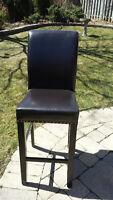 Bar stools leather