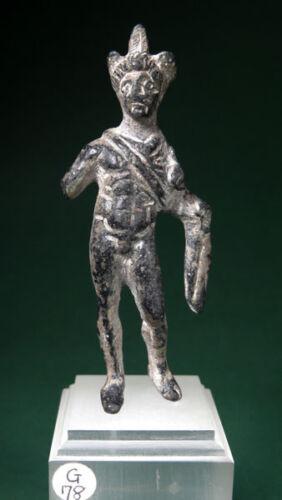 ROMAN EGYPTIAN  HERMES ( MERCURY ) BRONZE STATUETTE 100 BC-200 AD